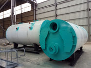 0.7Mp-1.25Mpa Industrial Steam Boilers / Horizontal Oil Boiler Running Stably