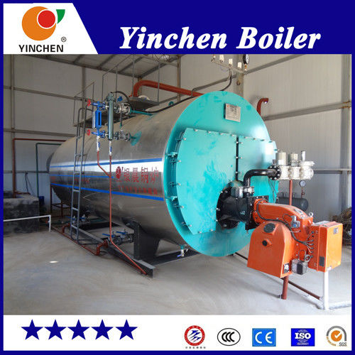 High Efficiency Gas Fired Steam Boiler Fire Tube Steam Output 184- 450C