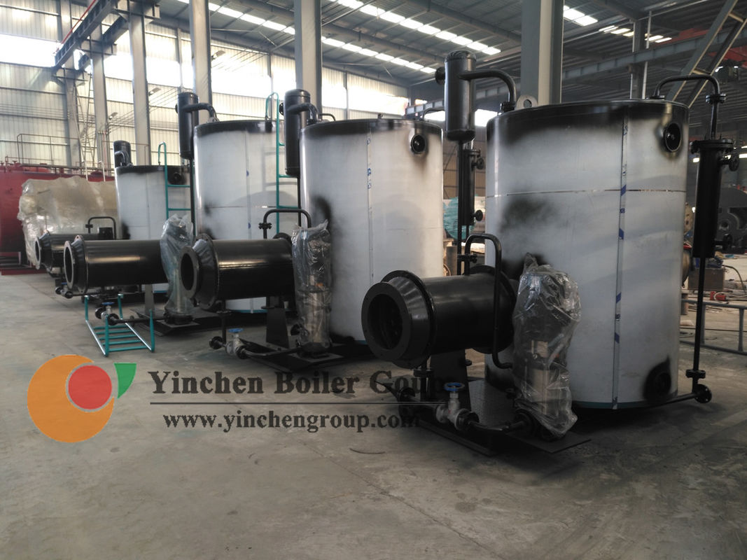 Industrial Usage Vertical Steam Boiler , Gas Oil Fired Once Through Boiler
