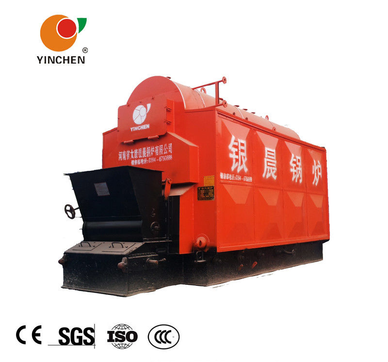 Horizontal Fire Tube Boiler Chain Grate Stoker Travelling Grate Low Noise