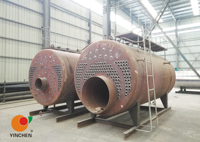 CWNS Type Oil Fired Hot Water Boiler Heating System / Fire Tube Steam Boiler